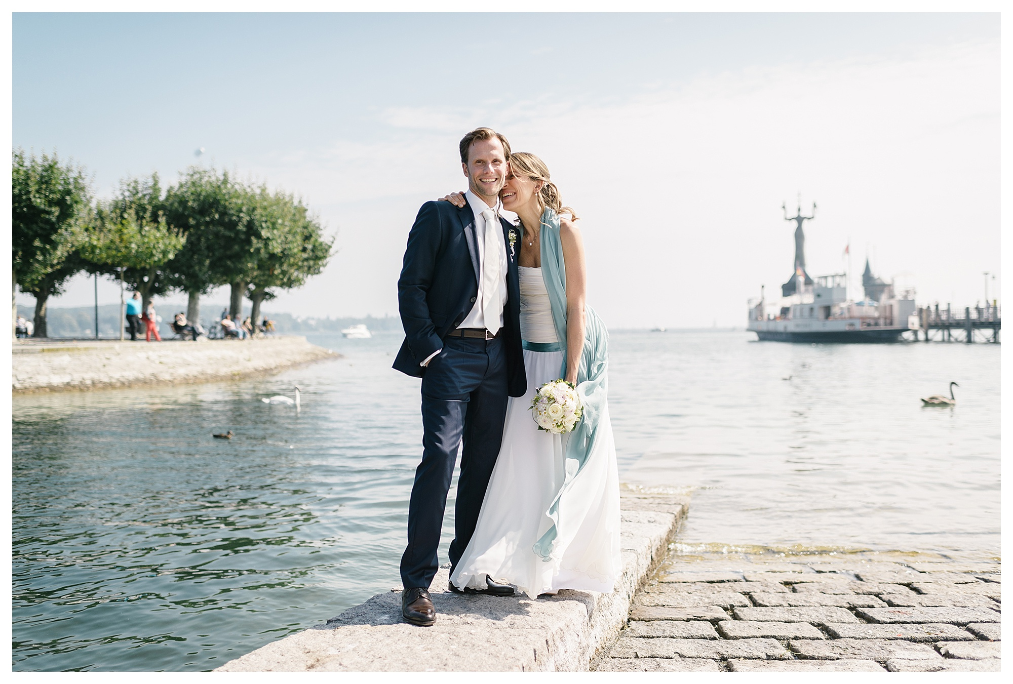 Fotograf Konstanz - Hochzeitsreportage Konstanz Raphael Nicole Elmar Feuerbacher Photography Hochzeit Portrait 20 - Wedding in Constance at Lake of Constance  - 56 -