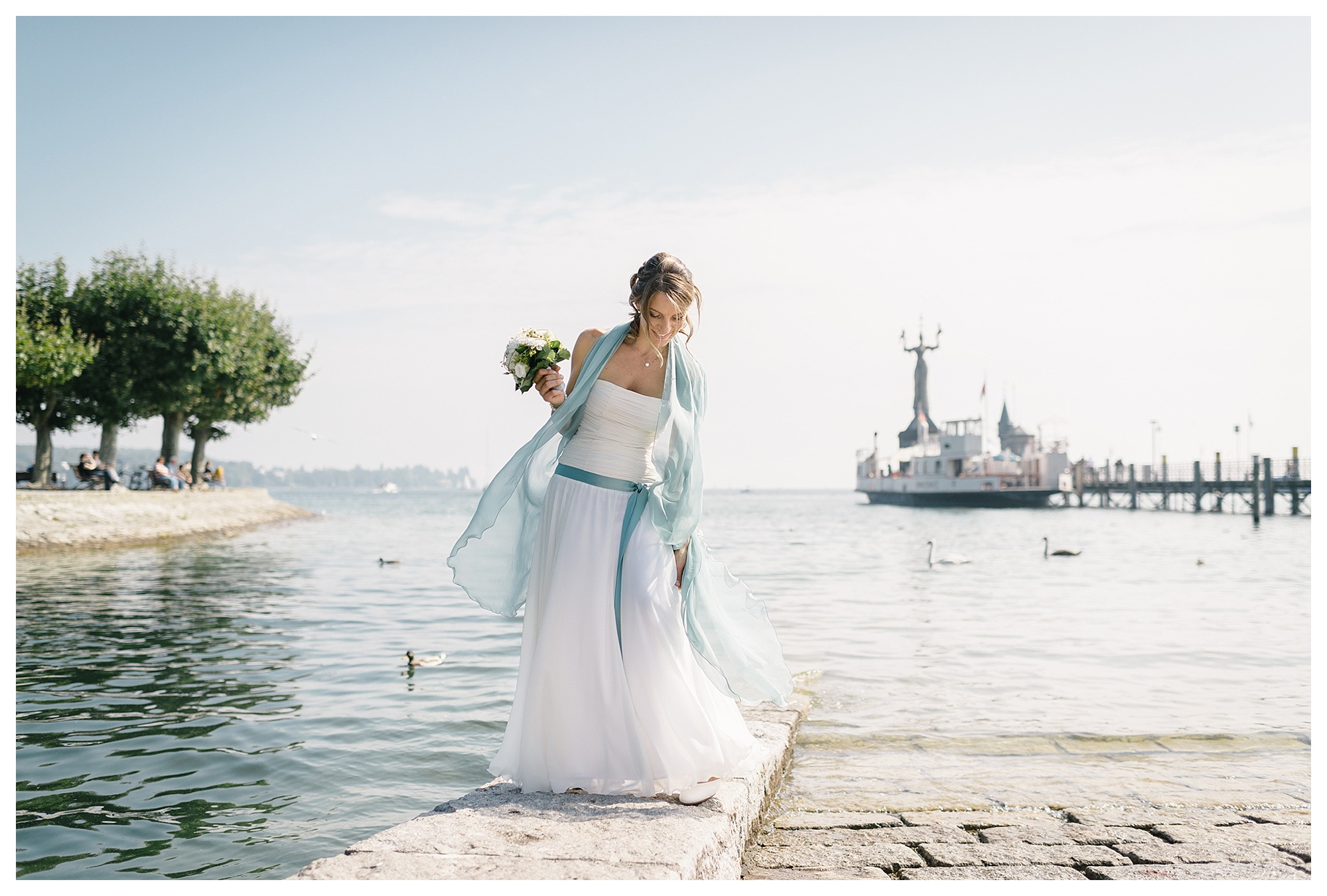 Fotograf Konstanz - Hochzeitsreportage Konstanz Raphael Nicole Elmar Feuerbacher Photography Hochzeit Portrait 22 - Wedding in Constance at Lake of Constance  - 36 -