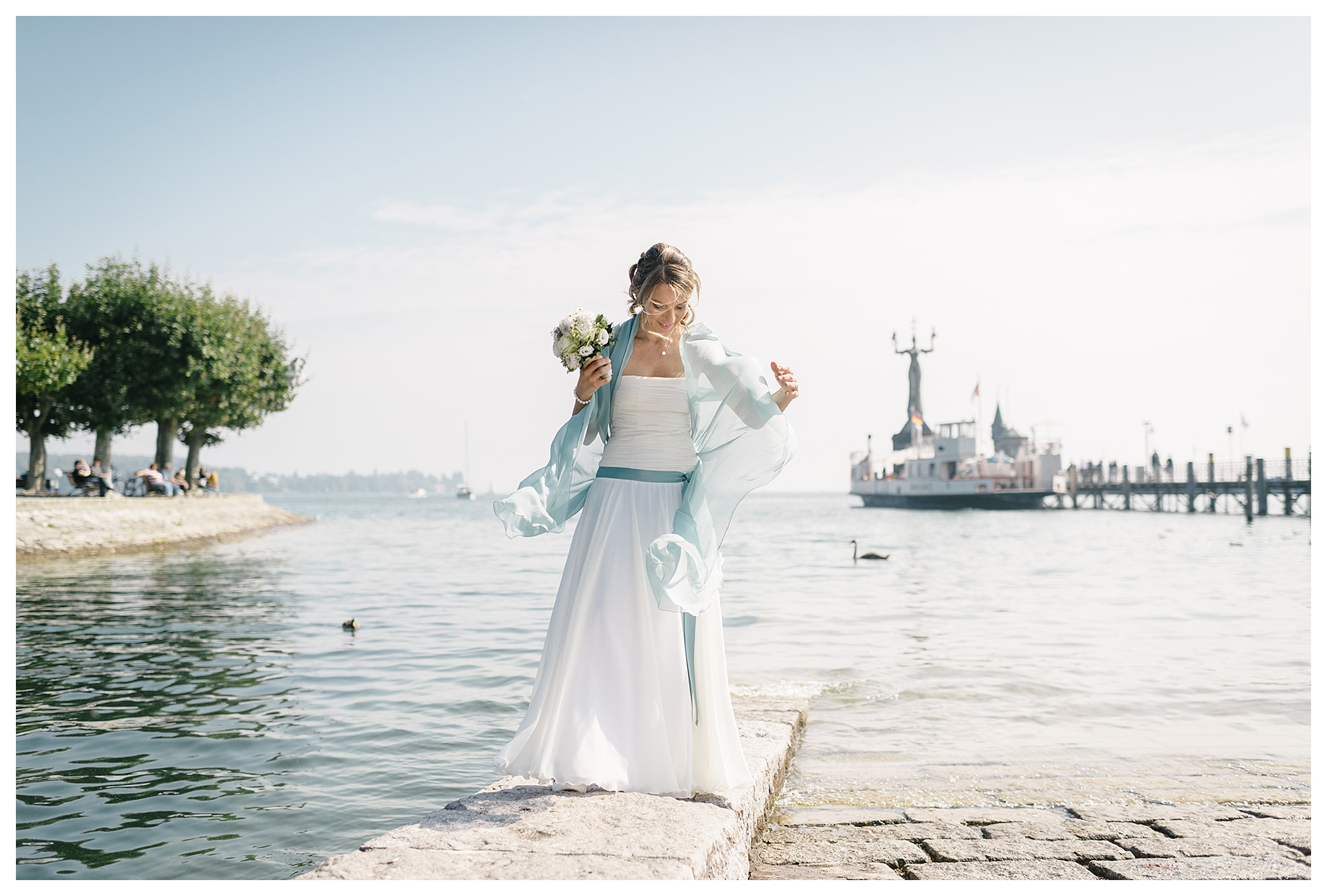 Fotograf Konstanz - Hochzeitsreportage Konstanz Raphael Nicole Elmar Feuerbacher Photography Hochzeit Portrait 23 - Wedding in Constance at Lake of Constance  - 58 -