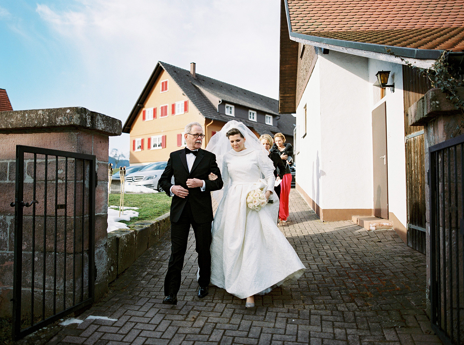 Fotograf Konstanz - Hochzeit Stephanie Stefan Baiersbronn Bareiss Elmar Feuerbacher Photography 36 - Noble winter wedding in Baiersbronn in Bareiss  - 109 -