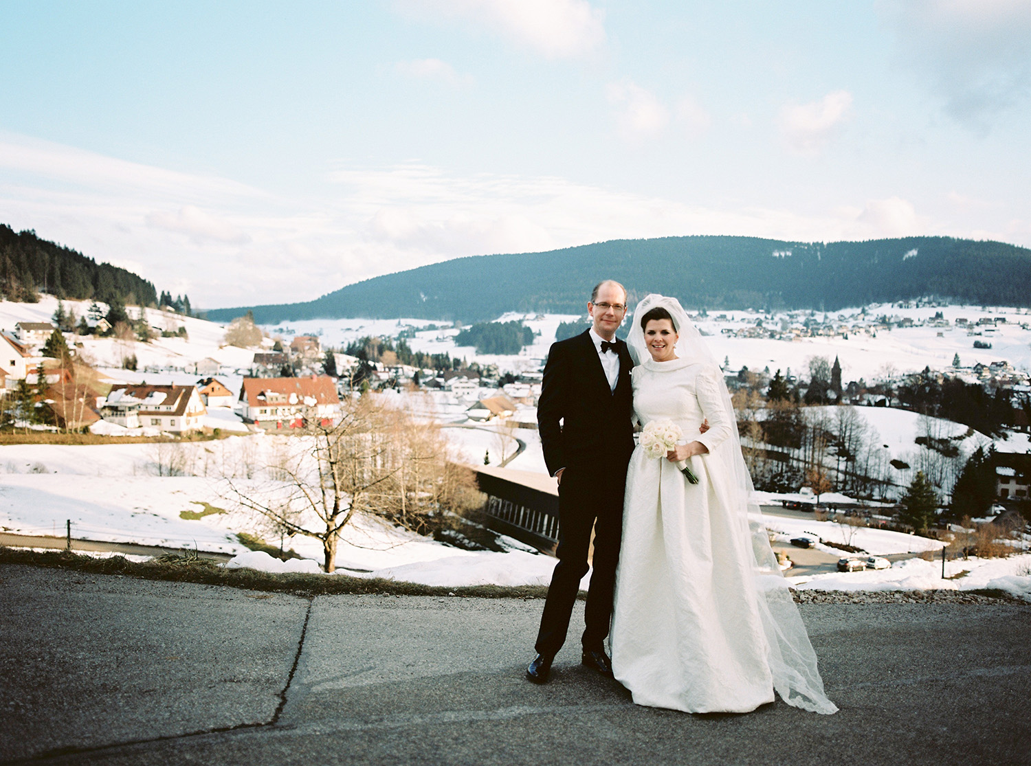 Fotograf Konstanz - Hochzeit Stephanie Stefan Baiersbronn Bareiss Elmar Feuerbacher Photography 55 - Noble winter wedding in Baiersbronn in Bareiss  - 126 -