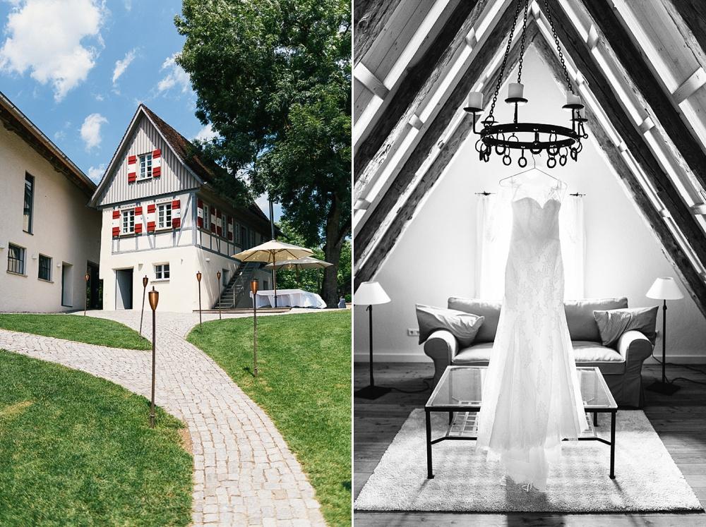 Fotograf Konstanz - Hochzeitsreportage auf dem Hofgut Maisenburg - Schwäbische Alb  - 7 -