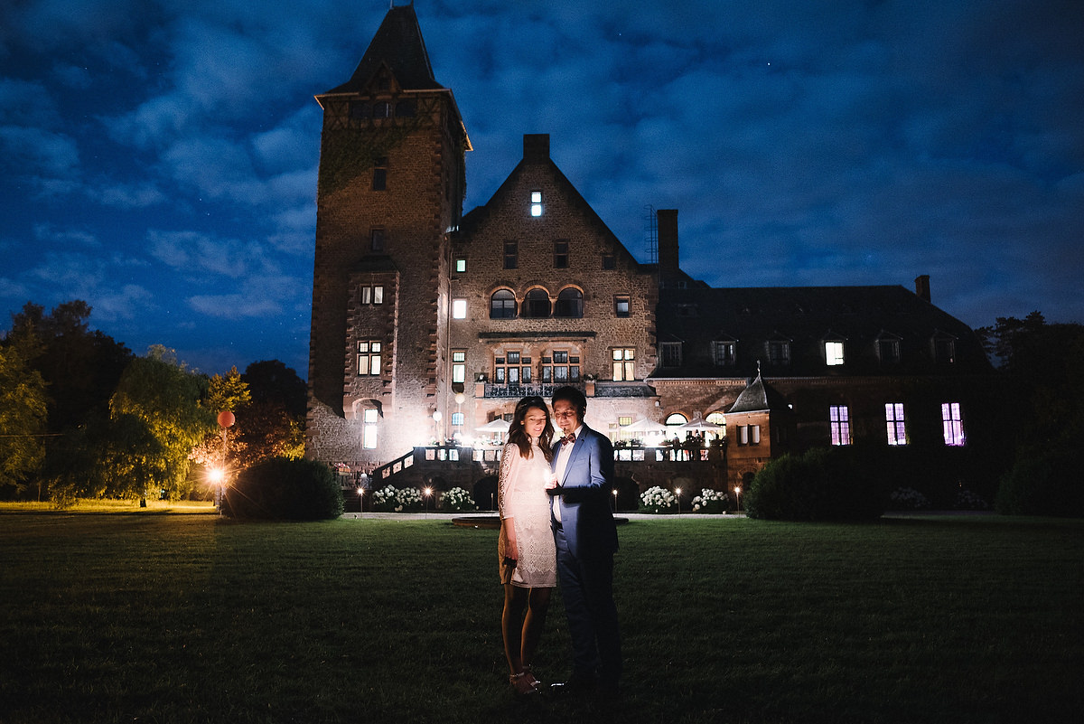 Fotograf Konstanz - Persian-german wedding on castle Saareck in Saarland  - 1 -