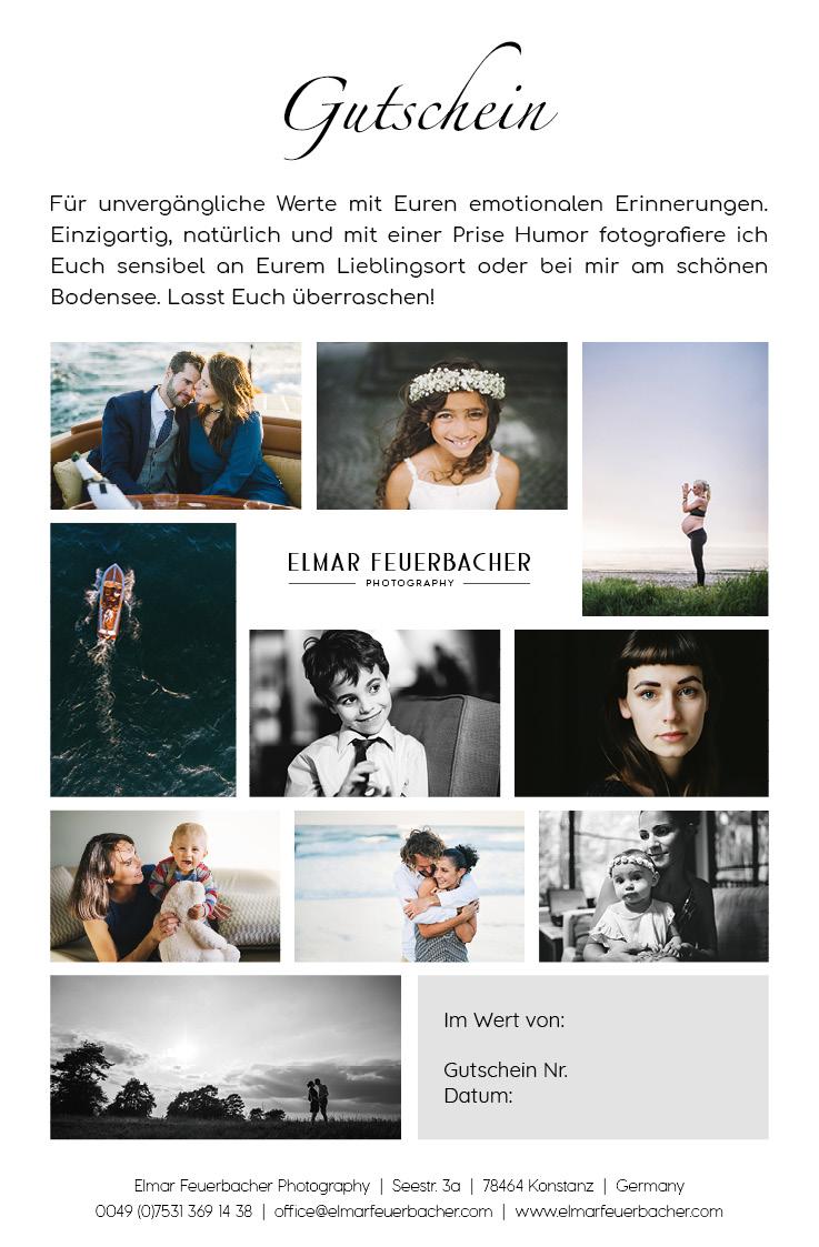 Geschenk Gutschein Shooting Fotograf elmar feuerbacher Konstanz
