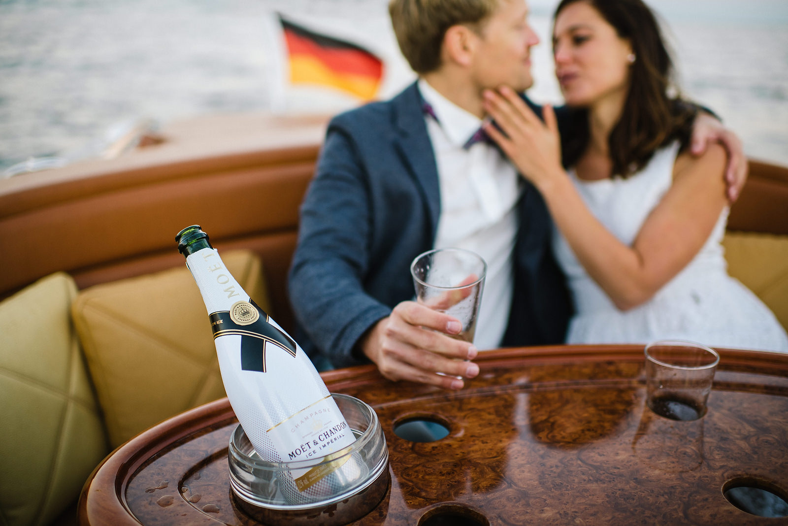Fotograf Konstanz - Classic Boat Pegiva Shooting Bodensee Hochzeit Erlebnis EFP 44 - Experience a Pegiva boat shooting on Lake Constance  - 15 -