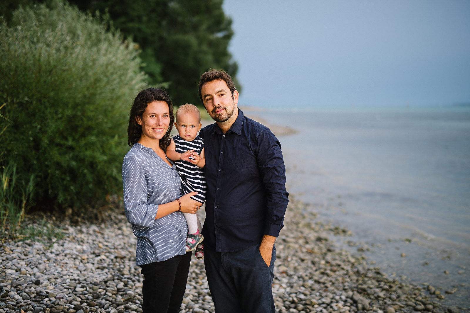 Fotograf Konstanz - Familienbilder Familien Musiker Baby Paar Shooting Konstanz EFP 02 - Family-Shooting at Lake Constance  - 2 -