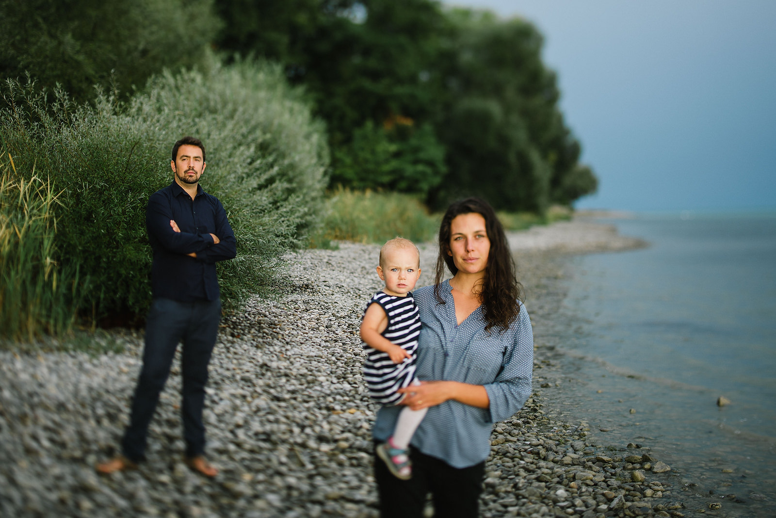 Fotograf Konstanz - Familienbilder Familien Musiker Baby Paar Shooting Konstanz EFP 05 - Familienbilder am Bodenseeufer bei Konstanz  - 26 -