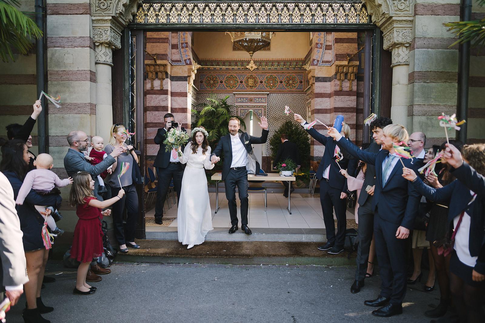 Fotograf Konstanz - Hochzeitsfotograf Stuttgart Esslingen Hochzeit 26 - Wedding with moorish ambience in the Wilhelma in Stuttgart  - 26 -